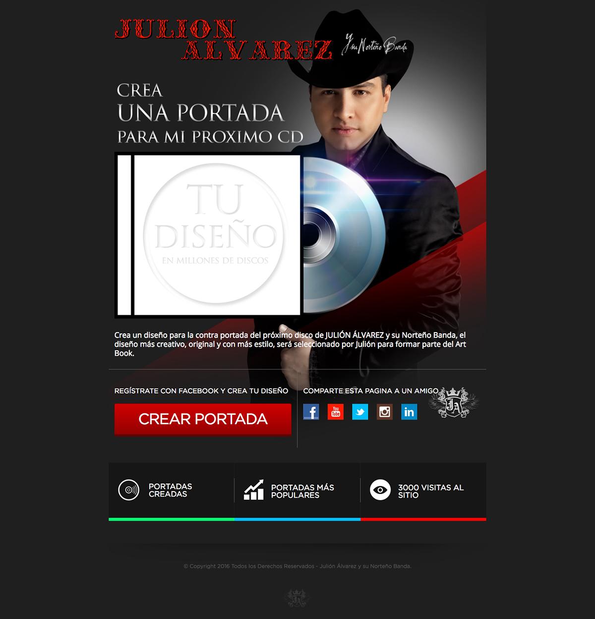Julión Alvarez CD Maker