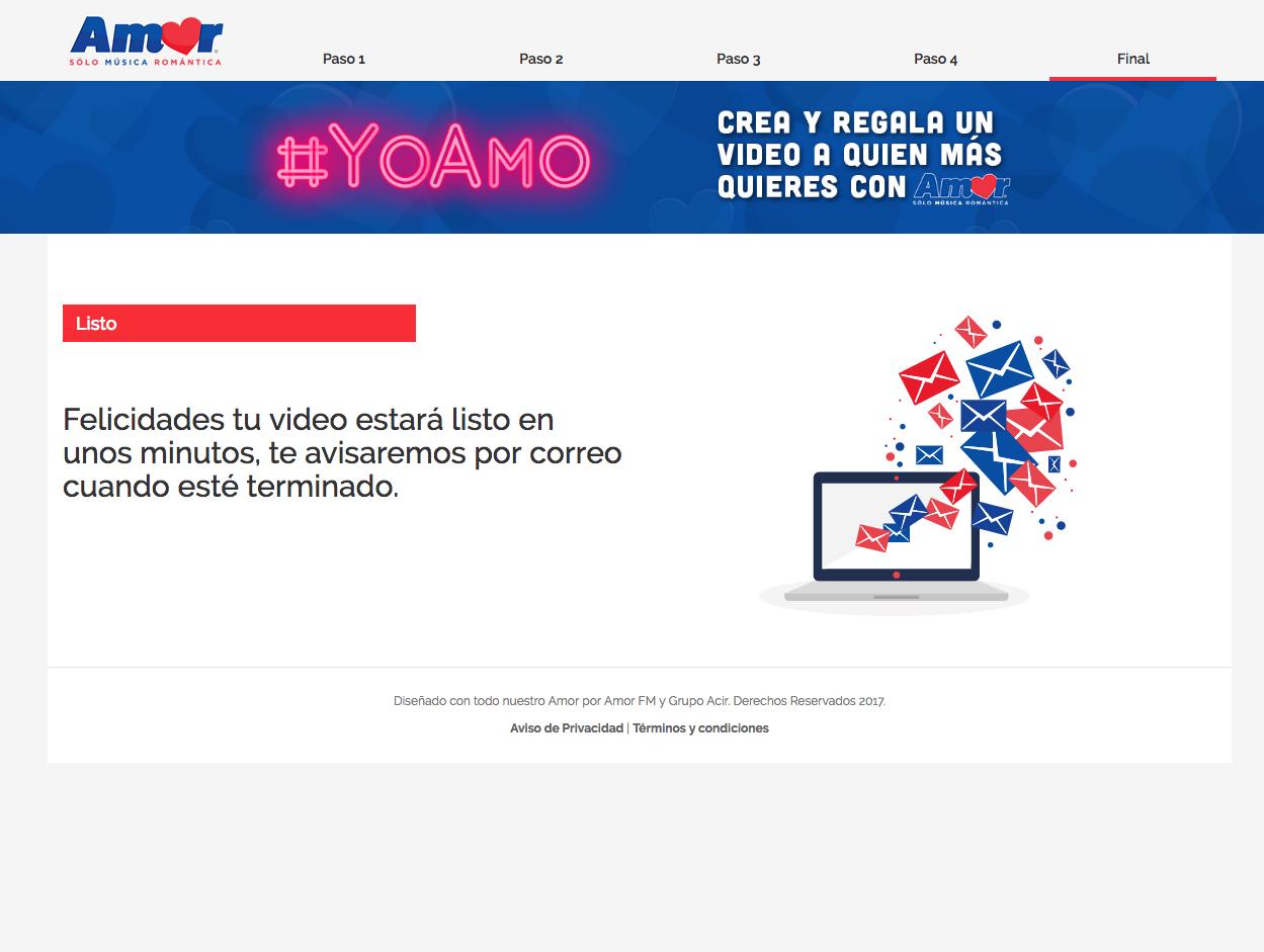 Yo Amo [AmorFM]